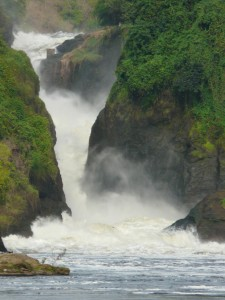River Nile, Murchison falls: Uganda