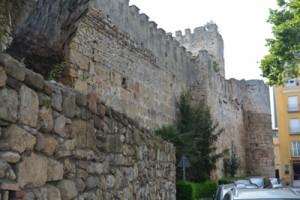 Marbella historic town walls