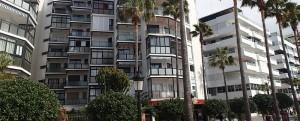 Beach front apartments, Marbella