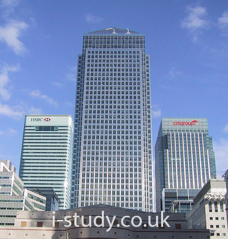 Financial sector London