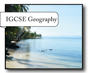 IGCSE Geography revision notes